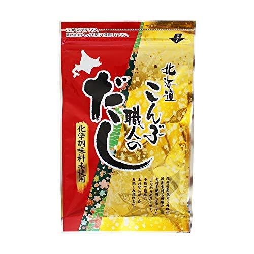 北海道こんぶ職人のだし 8g×7包×25 札幌食品サービス 北海道産昆布5種類と国産素材5種類の素材使用 化学調味料無添加