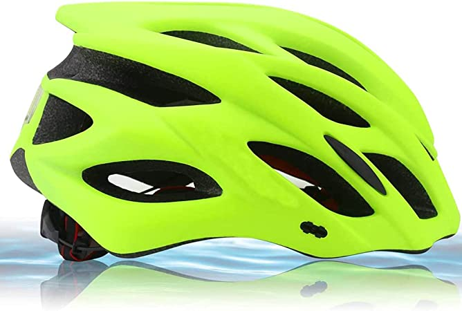 Zamelux Casco para Bicicleta Patinete con luz de Seguridad ...