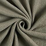 Fabulous Fabrics Fleece schiefergrau, Uni, 150cm breit