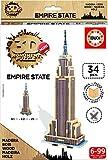 Educa - Puzzle 3D Madera Empire State 34 Piezas (17306)