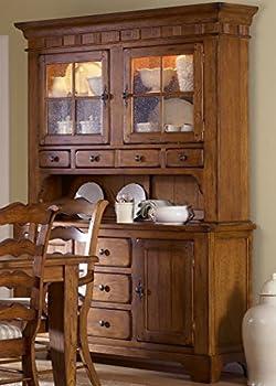 Liberty Furniture Industries Treasures Dining Hutch & Buffet W62 x D20 x H85 Rustic Oak