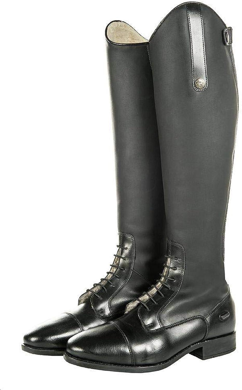 Hkm Riding Boots Sevilla Teddy Teddy Teddy Long Length  Close Up  till försäljning online