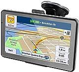 5' GPS Automatique de Voiture Moto , HIEHA Android Système d'Operation 4, Appareil de Navigation Écran HD Tactile, Intégrer Le...
