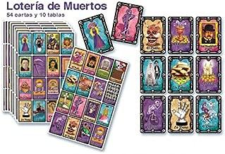 PADI COLOR Loteria De Muertos