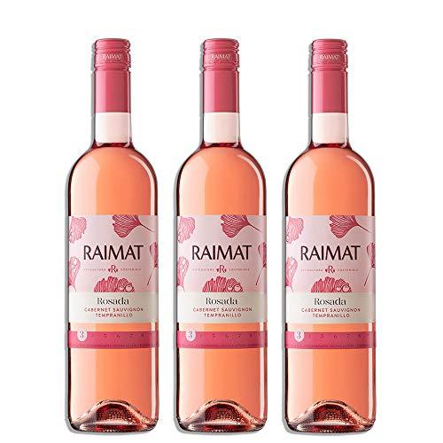 Raimat | Vino Rosado Raimat Rosada 2017 | D.O. Costers del Segre | Caja de 3 botellas de 75 cl