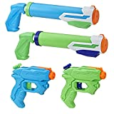 Hasbro- Supersoaker Floodtastic 4 Pack, Multicolor (E2999EU5)