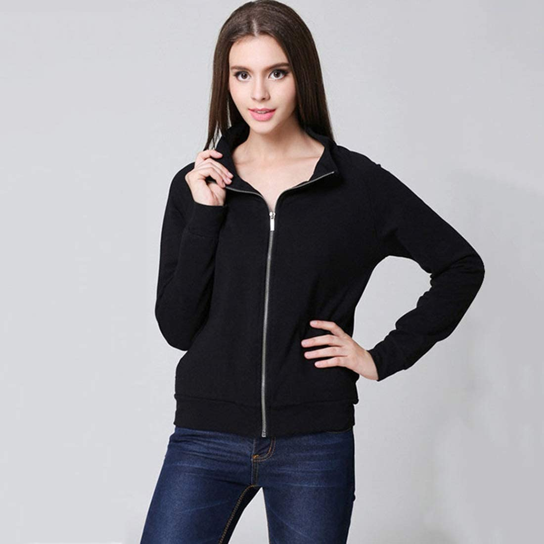 Jacket Letter Printed Autumn and C Winter Slim Super special Ranking TOP19 price Decoration
