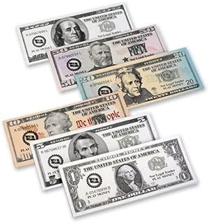 Nasco TB18722T Complete Bills Set, 500 Bills, Grades K - 4