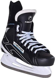 HEAD Ishockey skridsko 180 I 12 storlekar I perfekt för fritidsspelare I rostfritt stål I bekväm löpning I bra passform