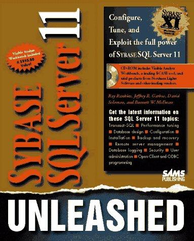 Sybase SQL Server 11 Unleashed