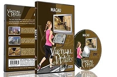 Virtual Walks - Macau For Indoor Walking, Treadmill and Cycling Workouts