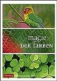 Magie der Farben Wochenplaner. Wandkalender 2020. Wochenkalendarium. Spiralbindung. Format 25 x 35,5 cm