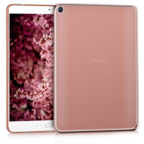 kwmobile Hülle kompatibel mit Asus ZenPad 3S 10 (Z500M) - Silikon Tablet Cover Hülle Schutzhülle Rosegold