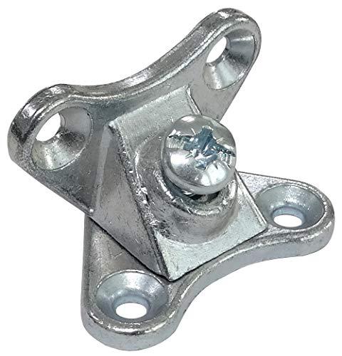 AERZETIX: 10 Escuadras de ángulo Racor Refuerzo metálico para ensamblaje de Muebles Panel C41527