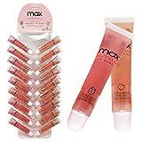 (36Pack) MAX Makeup Cherimoya Pink Jelly Lip Gloss (18Strawberry+18Peach)
