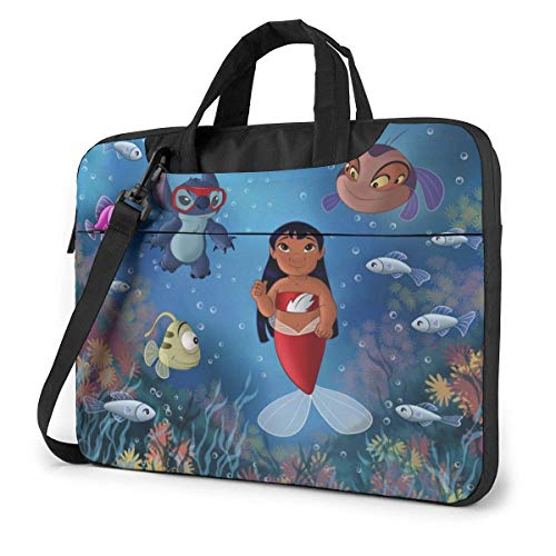 Laptop Sleeve Bag Cartoon Stitch Lilo Laptop Sleeve Case Cover, Tablet Briease, Notebook Sleeve Case