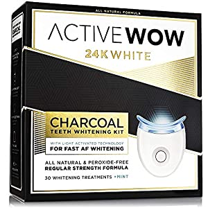 Active Wow White Charcoal Teeth Whitening