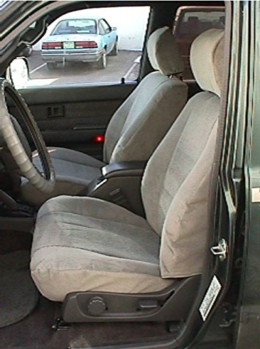 Durafit Seat Covers, Made to fit 1996-1998 4-Runner SR5 Front Seat Covers in Taupe Automotive Leatherette