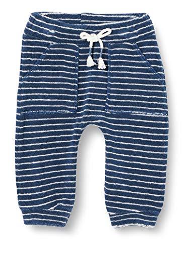 United Colors of Benetton Pantalones, Azul (BLU/Bianco 901), 74 para Bebés