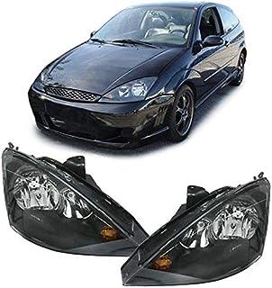 Carparts Online 10564 Klarglas Scheinwerfer H7 H1 schwarz   Paar