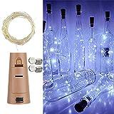 Luz de botella 12 piezas 20 LED 2M botella de cadena de luz botella de...