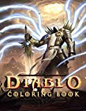 Diablo Coloring Book: A Cool Coloring Book For Relaxation And Stress Relief With Many Illustrations Of Diablo