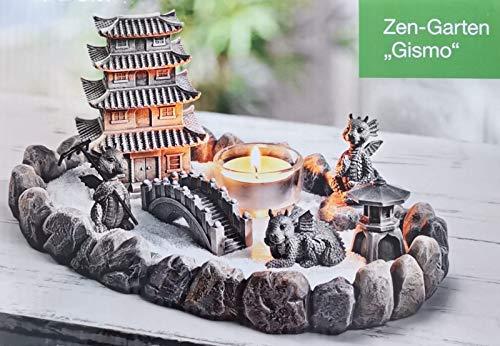 Zengarten Drachen Meditation Entspannung Duft Deko Teelichter Kerzen NEU