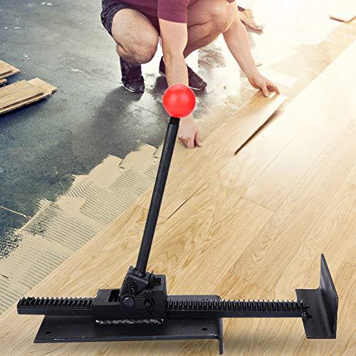 Hardhout vloeren Jack, Professionele Staal Core vloeren Jack installeren Straighten Plank Fix Hardhout Vloer Tool Zwart