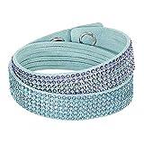 Swarovski Slake 5297358 Bracelet Wrap Bleu clair