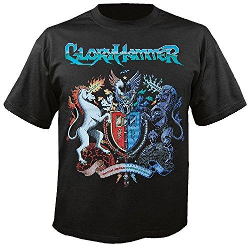 GLORYHAMMER - Sanctus Dominus Infernus Ad Astra - T-Shirt Größe M