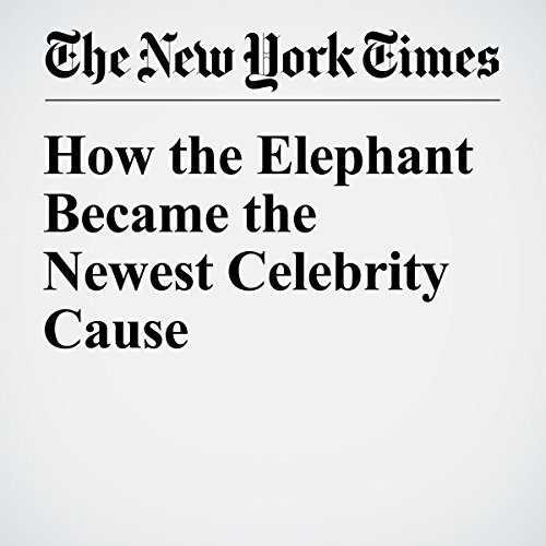How the Elephant Became the Newest Celebrity Cause cover art