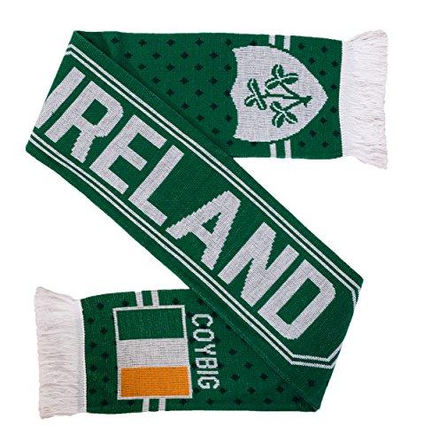 Deutchland Strickschal Irland Fußball Rugby (COYBIG)