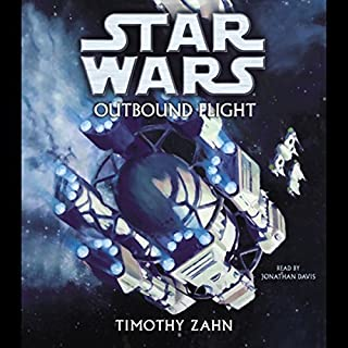 Star Wars: Outbound Flight audiobook cover art