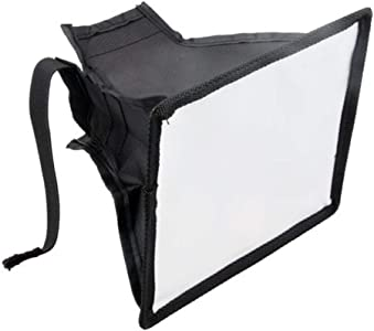 KinshopS Universal Portable Flash Diffuser Softbox 17cm for Camera Spe...