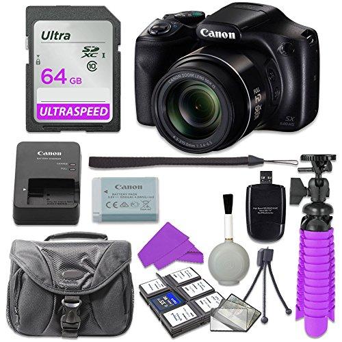 Canon PowerShot SX540 Digital Camera with 64GB SD Memory Card...