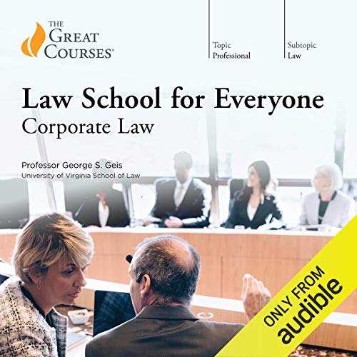 『Law School for Everyone: Corporate Law』のカバーアート