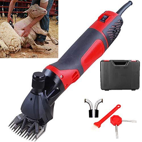 HPDOM 850W Schafschermaschine,220V Elektriker Schafschere Ziegenschere einstellbare Geschwindigkeit Sheep Shearing Machine Sheep Clipper für die meisten Schafe