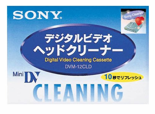Sony Fits Mini DV Head Cleaner (DVM-12CLD)