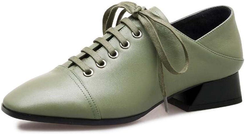 MYI Geschlossene Zehe der Frauen Mittlere Ferse beschuht bequeme beiläufige Querriemen-einzelne Schuhe Schwarz Grün Größe 34-39  | Um Eine Hohe Bewunderung Gewinnen Und Ist Weit Verbreitet Trusted In-und