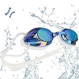 vetoky Gafas de Natación, Antiniebla Gafas para Nadar Protección UV...