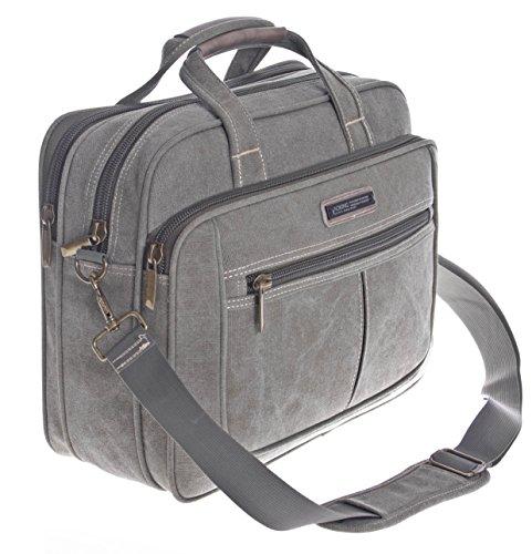 Borsa per PC portatile, a 38,1 cm, uomo noorsk lurenzo oxs la scuola borsa a tracolla Messenger Bag borsa Sport