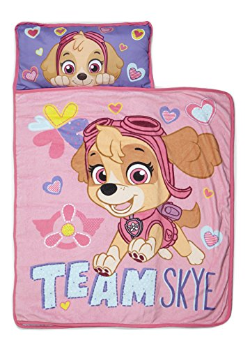 Paw Patrol Team Skye Nap Mat Set - Includes Pillow and...