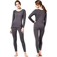 Feelvery Women's HEATPRO Active Performance Long Johns Thermal Underwear Set with Excellent Soft...
