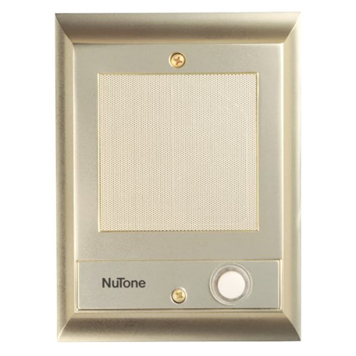 Nutone IS69PB Door Speaker with Lighted Pushbutton (Discontinued by Manufacturer)