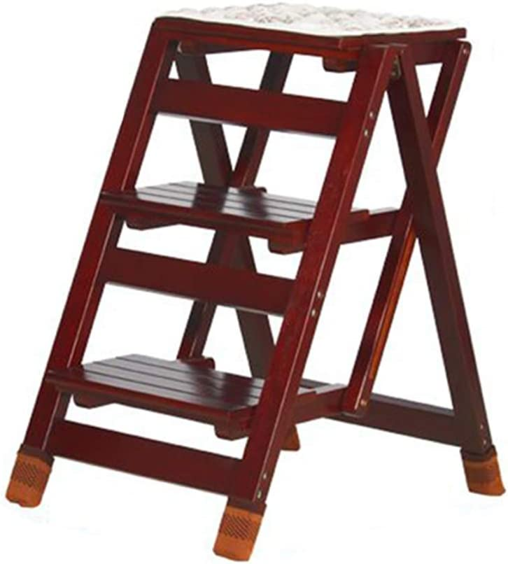 Max 57% OFF Stairway Max 68% OFF Chair 3-Steps Stool Folding Stepladder Heavy Woo Duty