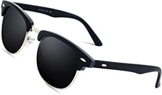 Gafas de sol polarizadas retro medio marco clásico para Hombre y Mujer MJ56