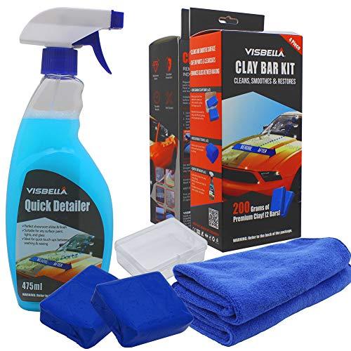 Visbella Clay Bars Auto Detailing Kit