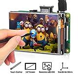 "OSOYOO HDMI 3.5インチLCDディスプレイ モニター タッチスクリーン Raspberry Pi 4 3 2 Model B に対応 (3.5"" HDMI LCD)"