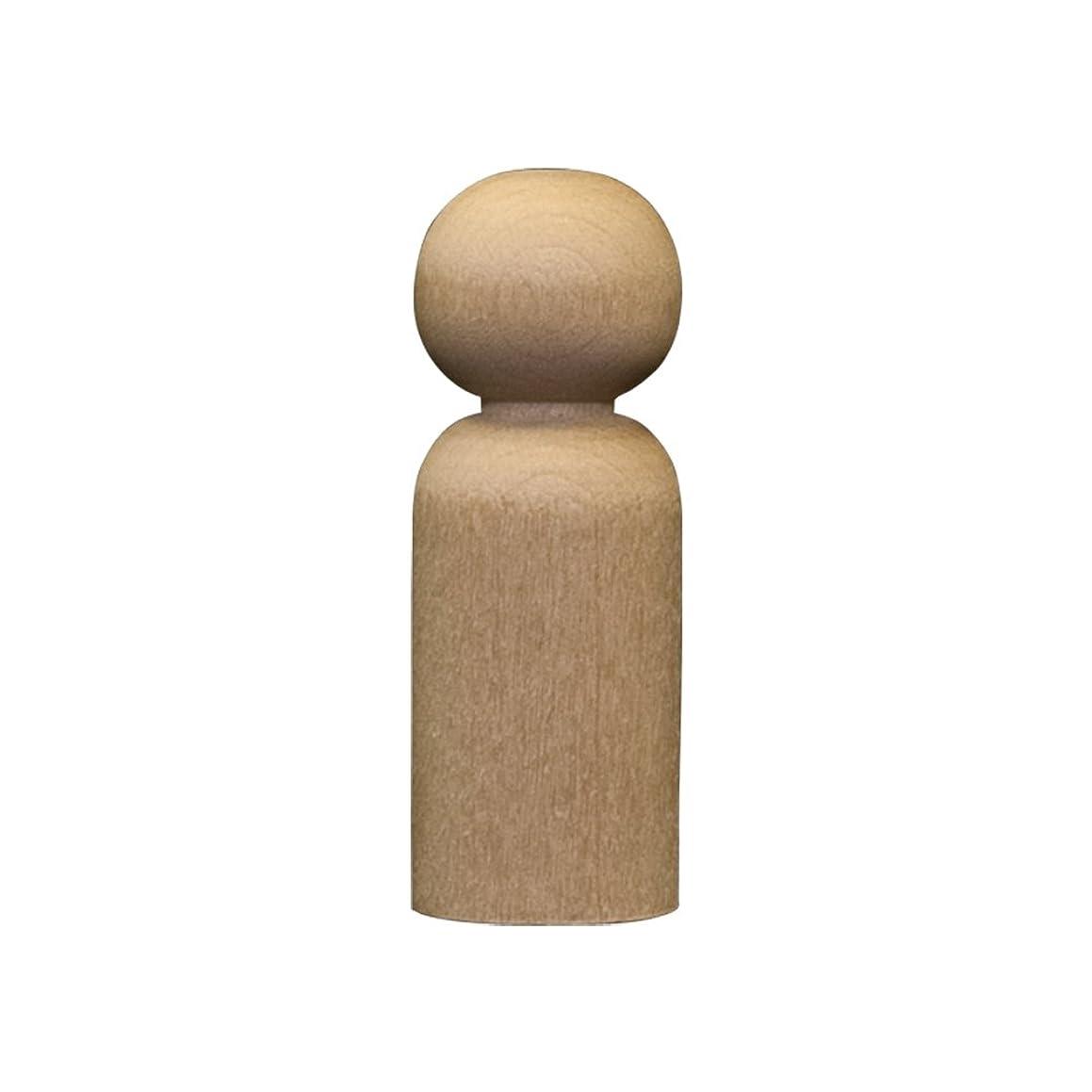 Wood Doll Bodies - Boy 1-11/16 inch - Bag of 100