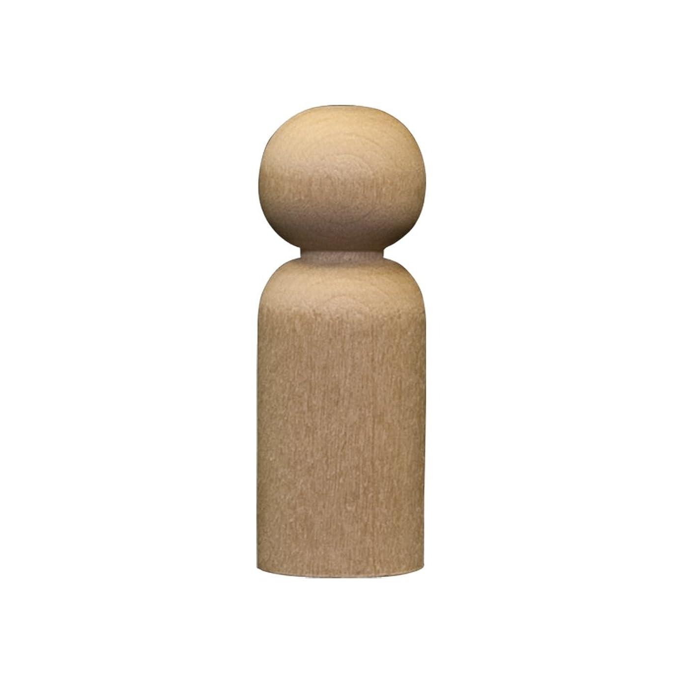 Wood Doll Bodies - Dad 2-3/8 inch - Bag of 100